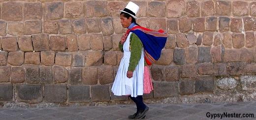 Street shot in Cusco, Peru