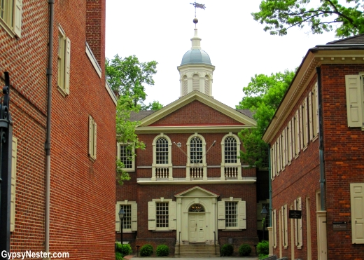 Carpenters Hall in Philadelphia