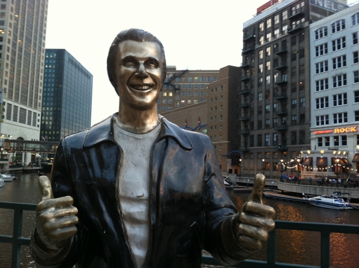 The Fonz by Getting Stamped