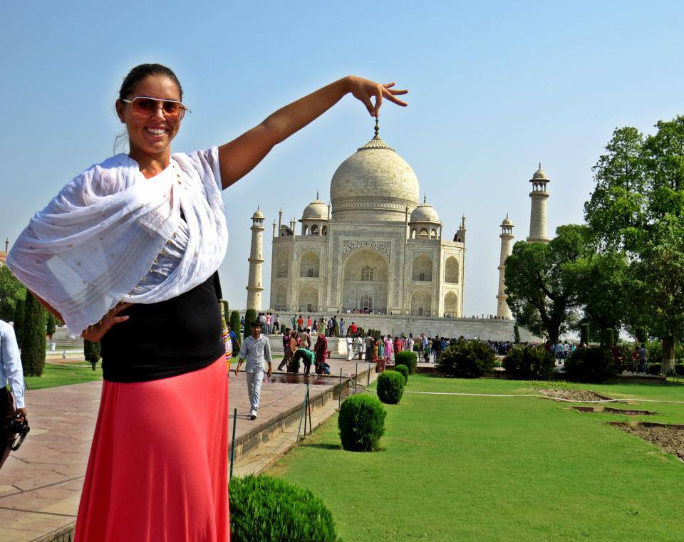 Taj Mahal silliness by Fluent in Frolicking