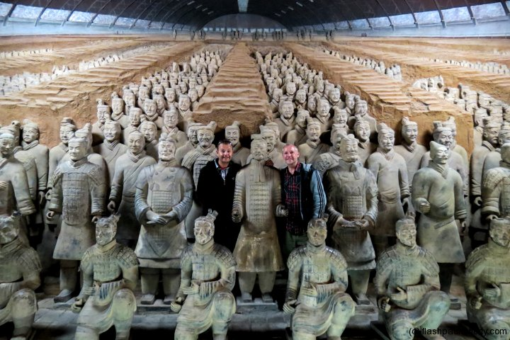Terracotta Warriors at Xian from Craig of Flashpacking Around the World