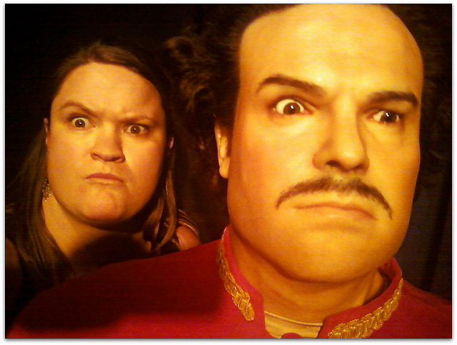 Jack Black and Abigail of 1,000 Miles on My Own Two Feet