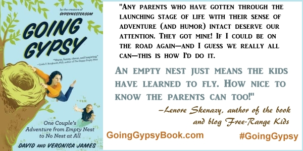 An empty nest just means the kids have learned to fly... Going Gypsy: One Couple's Adventure from Empty Nest to No Nest at All - http://goinggypsybook.com #GoingGypsy #books