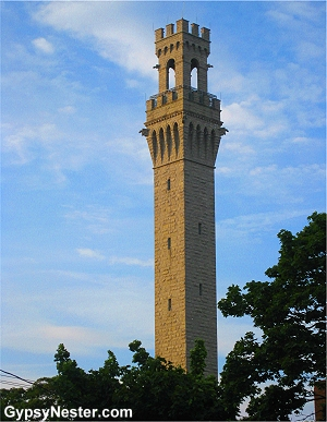 Pilgrim Monument in Provincetown, Massachusetts