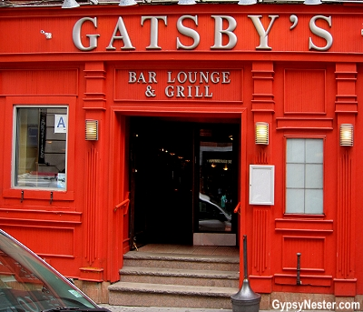Gatsby's in New York City, the home of the original Lombardi's Pizza