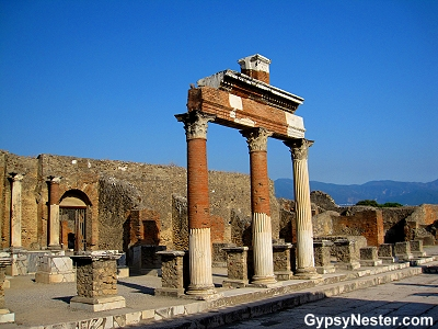 Rome may not have been built in a day, but Pompeii was certainly destroyed in one.
