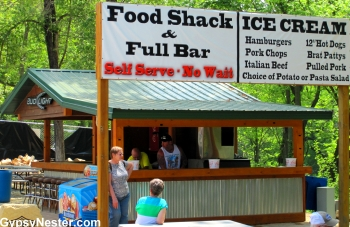 The Food Shack at Poopy's in Savanna Illinois