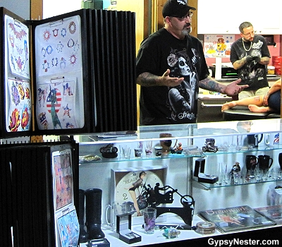 Get tattooed at Poopy's in Savanna Illinois!