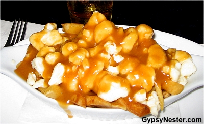 Poutine in Canada