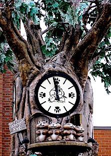 Punxutawney Groundhog Glockenspiel