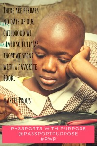 In 2015 Passports with Purpose is raising money to bring e-readers to Kenya with Worldreader.