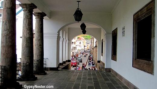 The Presidential Palace, Quito, Ecuador, South America