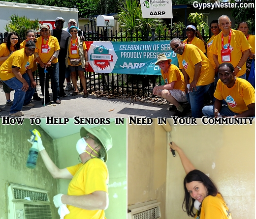 Rebuilding Together is a great way to help seniors in your community