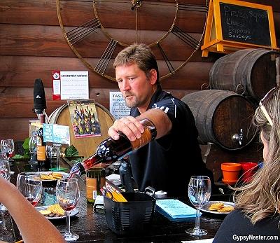 Rocky Waters Vineyard and Winery, Hanover, Illinois