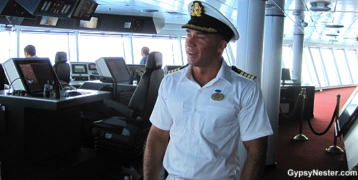 Captain Dino Sagani of The Royal Princess