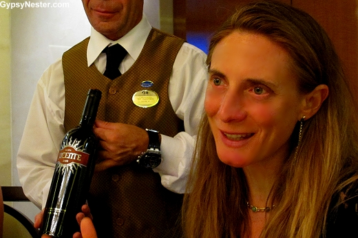 Professor Diletta Frescobaldi on the Royal Princess