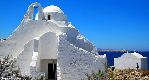 Mykonos in the Greek Islands