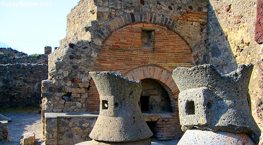 A bakery in Pompeii