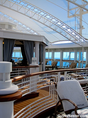The Sancuary aboard the Royal Princess