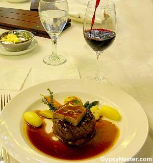 Winemaker's dinner aboard the Royal Princess