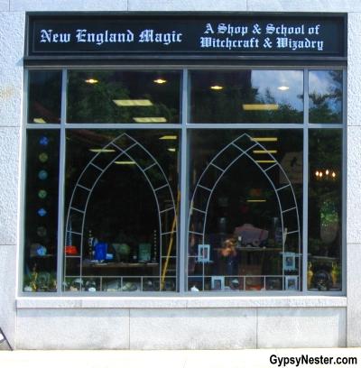 Witchcraft school in Salem, Massachusetts