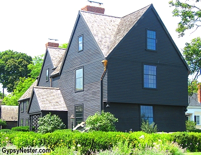 The House of Seven Gables in Salem, Massachusetts