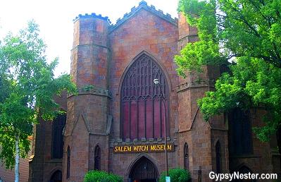 The Salem Witch Museum in Salem, Massachusetts