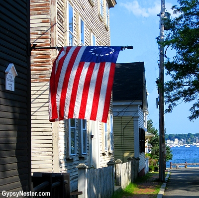 The historic district in Salem, Massachusetts