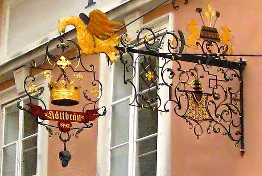 Hoffbrau 1992 Guild Sign