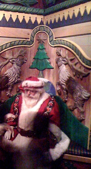 The REAL Santa Claus at Macy's on 34th Street