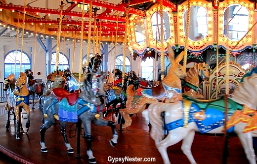 The Carousel at the Santa Monica Pier