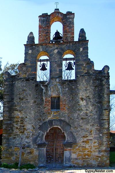 Mission San Francisco de la Espada In San Antonio, Texas