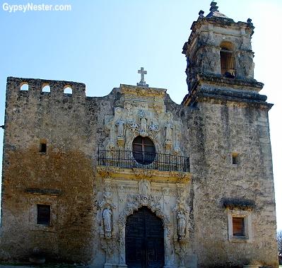 San José Mission in San Antonio, Texas