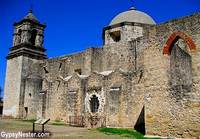 Mission San José in San Antonio, Texas