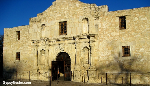The Alamo in San Antonio, Texas