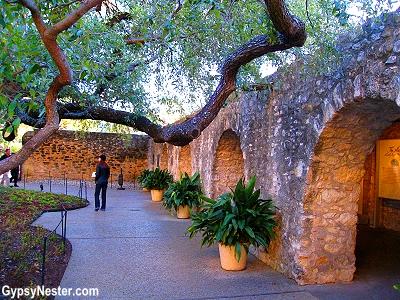 Inside the Alamo, San Antonio, Texas