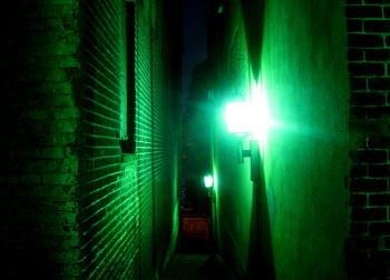 Factor's Walk at night