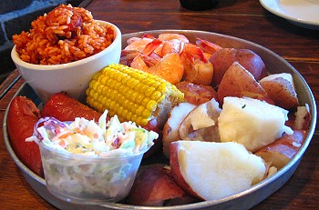 Lowcountry Boil in Savannah, Georgia