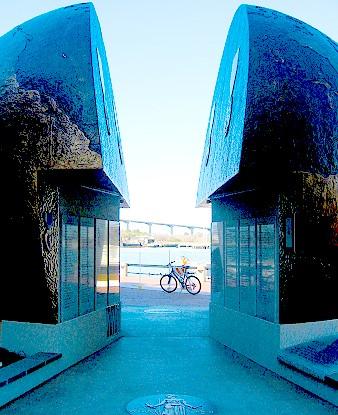 World War II memorial designed by Eric Meyerhoff