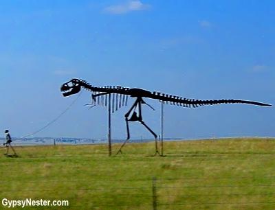 Strange dinosaur in Minnesota
