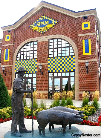 The Spam Museum in Minnesota