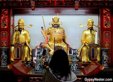 The City God Temple of Shanghai, China