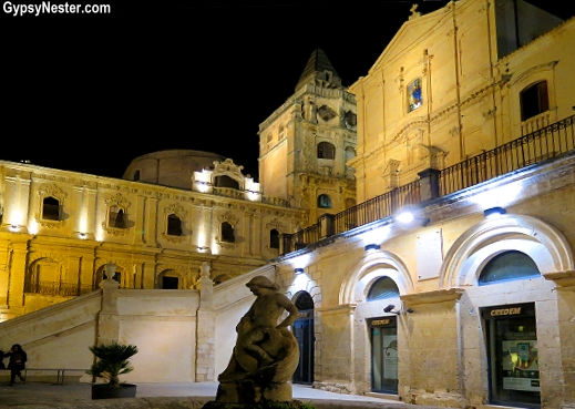 Noto in Sicily, Italy is a UNESCO World Heritage Site