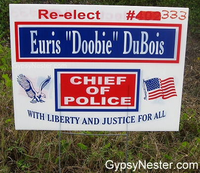 Doobie for Sheriff!