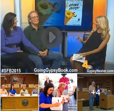 David and Veronica James, Authors of Going Gypsy, rock the Southern Festival of Books in Nashville!