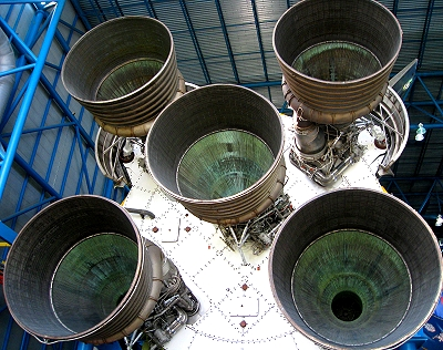 F-1 launch engines on Apollo 19