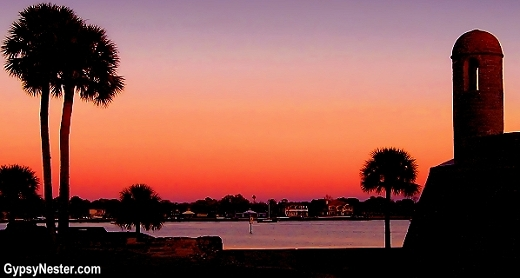 Sunset in St. Augustine, Florida