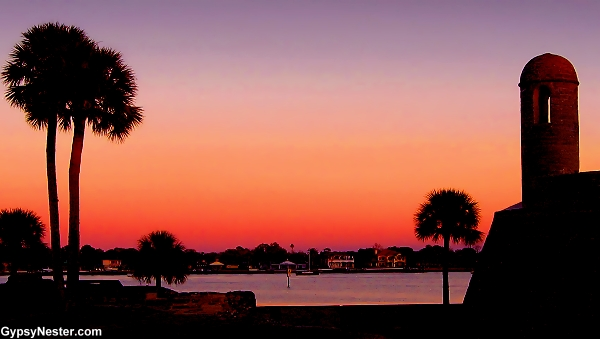 Sunset in St. Augustine Florida