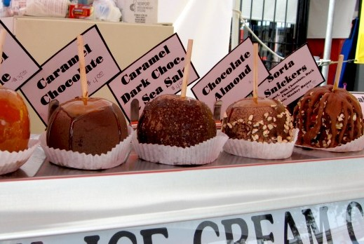 Crazy Caramel Apples