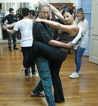 The GypsyNesters tango in Buenos Aires